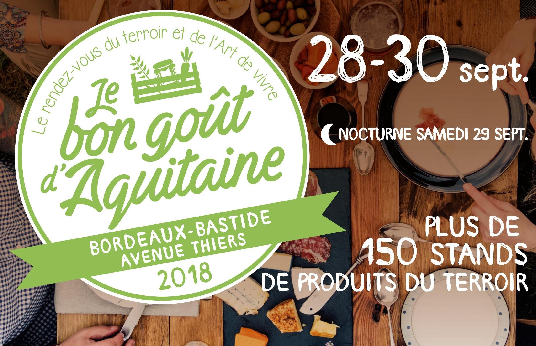 """Résultat de recherche d'images pour """"le bon goût d'aquitaine 2018"""""""